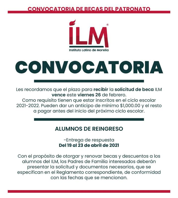 Convocatoria de becas Featured Photo
