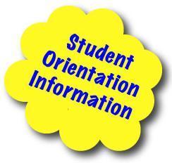 Student Orientation Information Logo