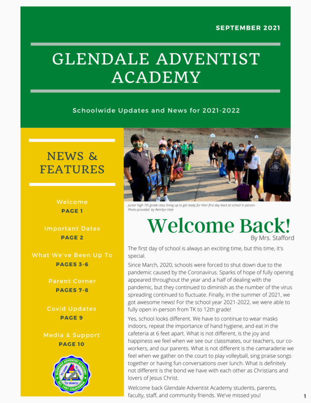 September Newsletter 2021 Featured Photo