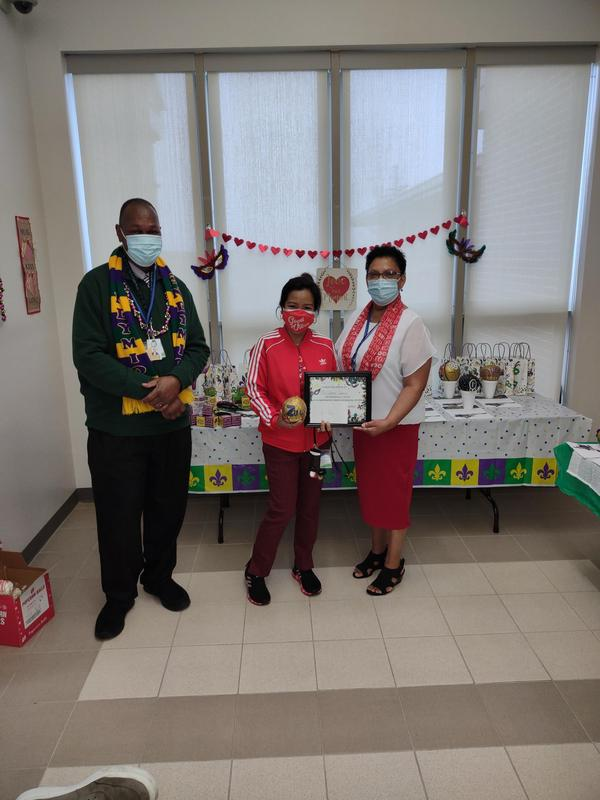 3rd place: Mrs. Lemaire