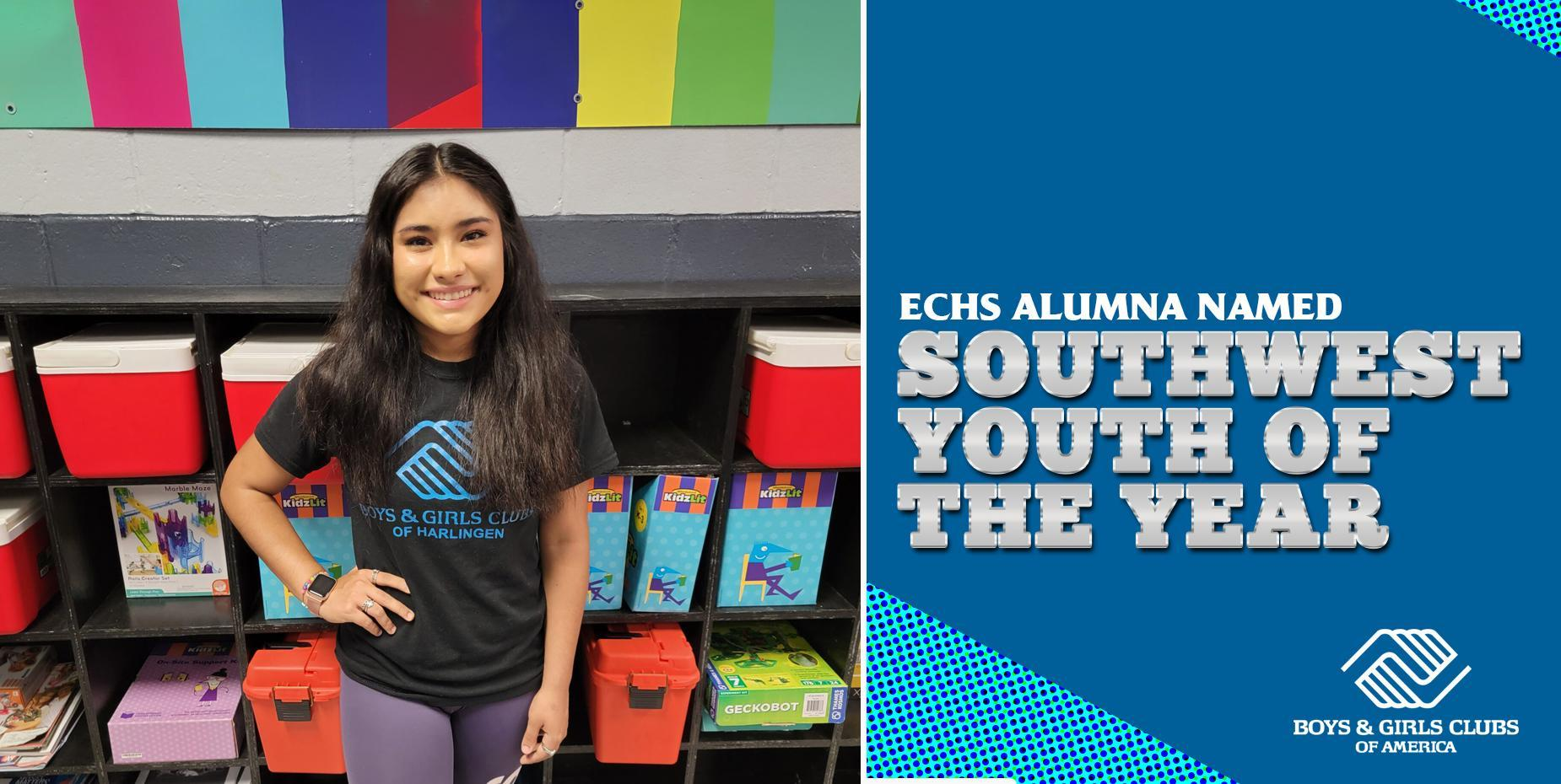 ECHS alumna named Southwest Youth of the Year