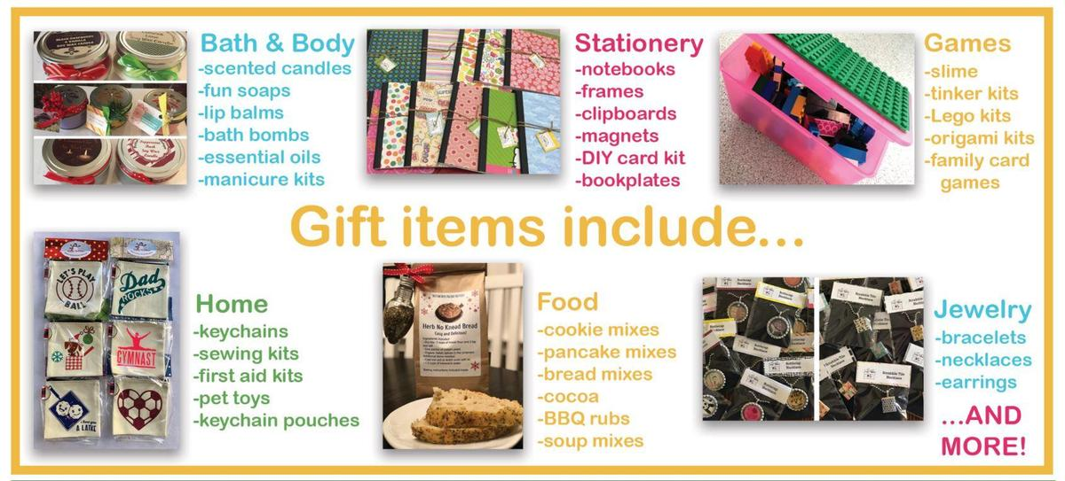 gift items include