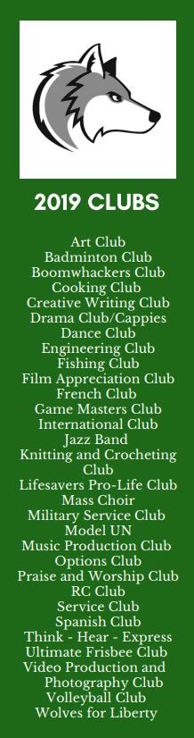 club list