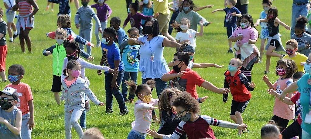 Willow School dance party
