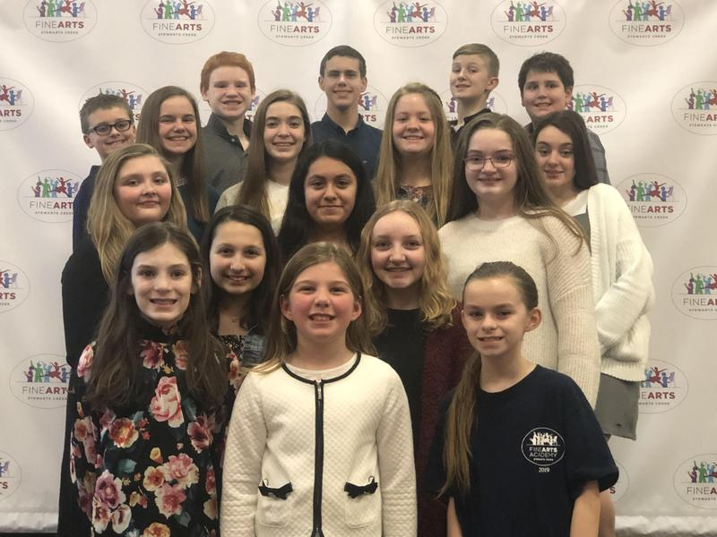 ACDA Southern Division Honor Choir Students