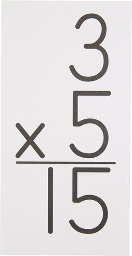Multiplication - Grades 3-8 math