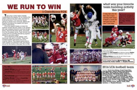LCA Yearbook Wins Award! Featured Photo