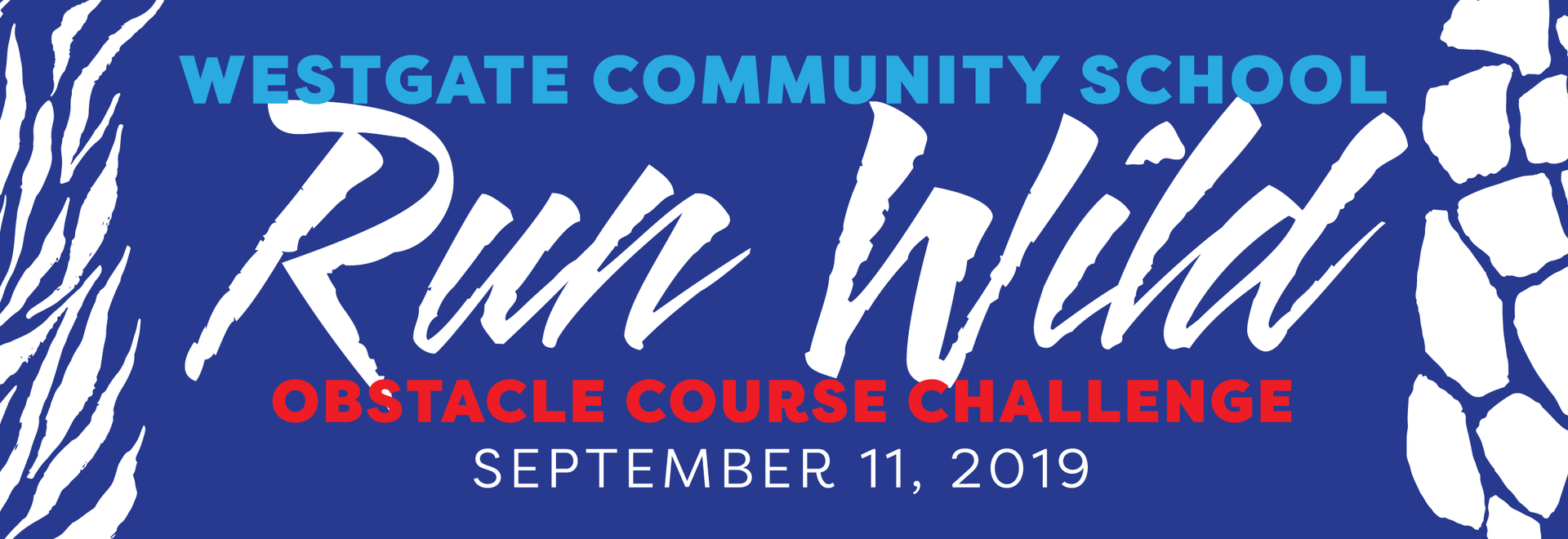 Run Wild Obstacle Course - Sept 11