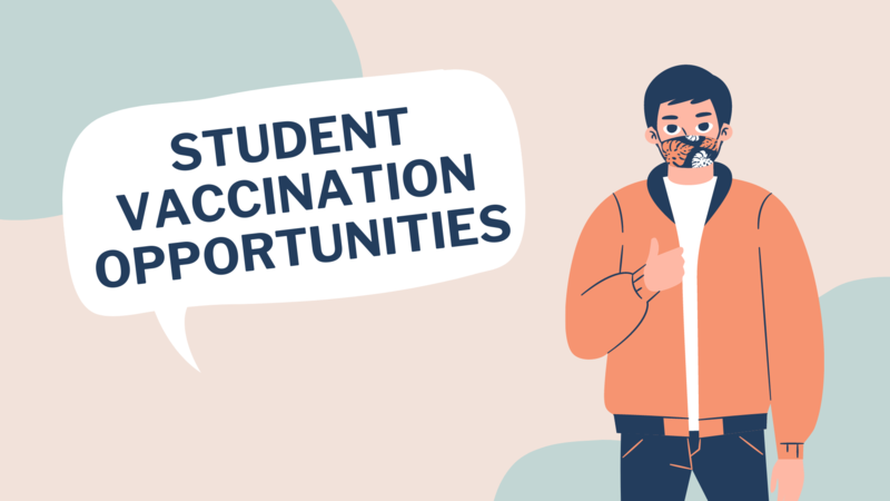 student vaccination opportunities