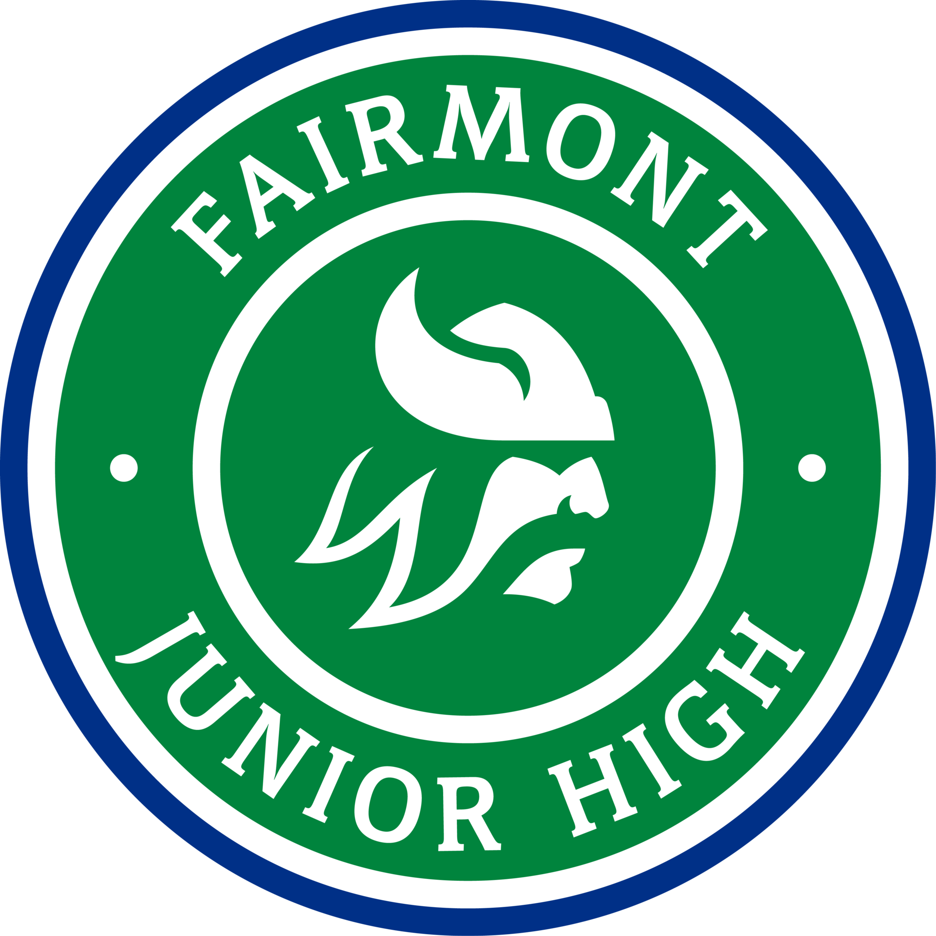 Fairmont Junior High school seal