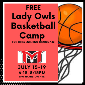 Lady's Baskeball camp