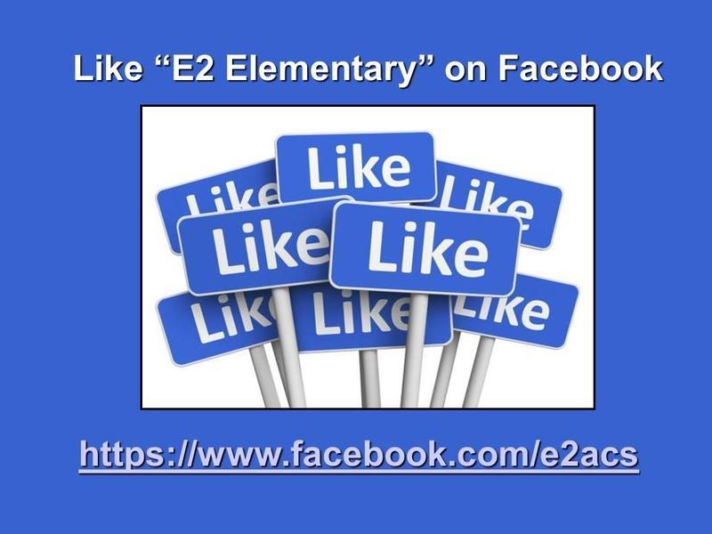 Follow E2 on Facebook! Thumbnail Image