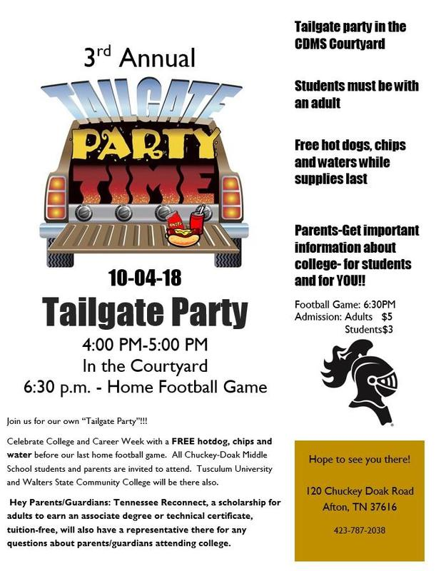 3rd Annual Tailgate Party Featured Photo