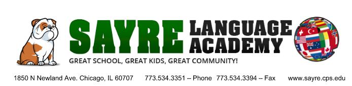 Sayre Logo