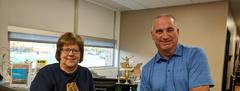 Mr. Bondy, Principal & Ms. Swick, Secretary