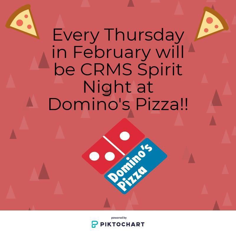 Domino's spirit nights