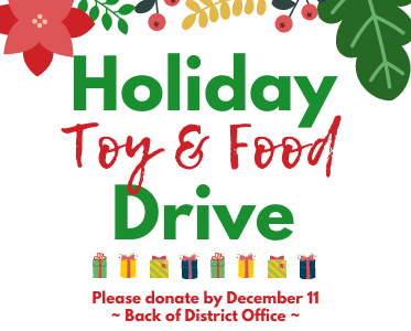 GSD Holiday Toy & Food Drive Thumbnail Image
