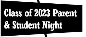 2023 Parent and Student Night