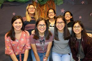 Group picture of the students going to state from TAFE
