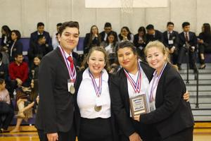 BPA Chapter 8 advanced to state competitions