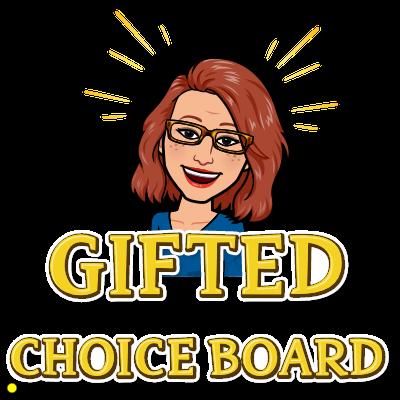 Gifted Choice Board