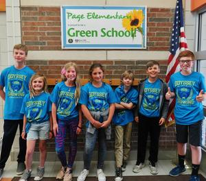 The Page Elementary OM team is headed to  the world finals.