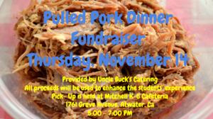 Pulled Pork Fundraiser