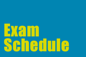 Image Exam Schedule