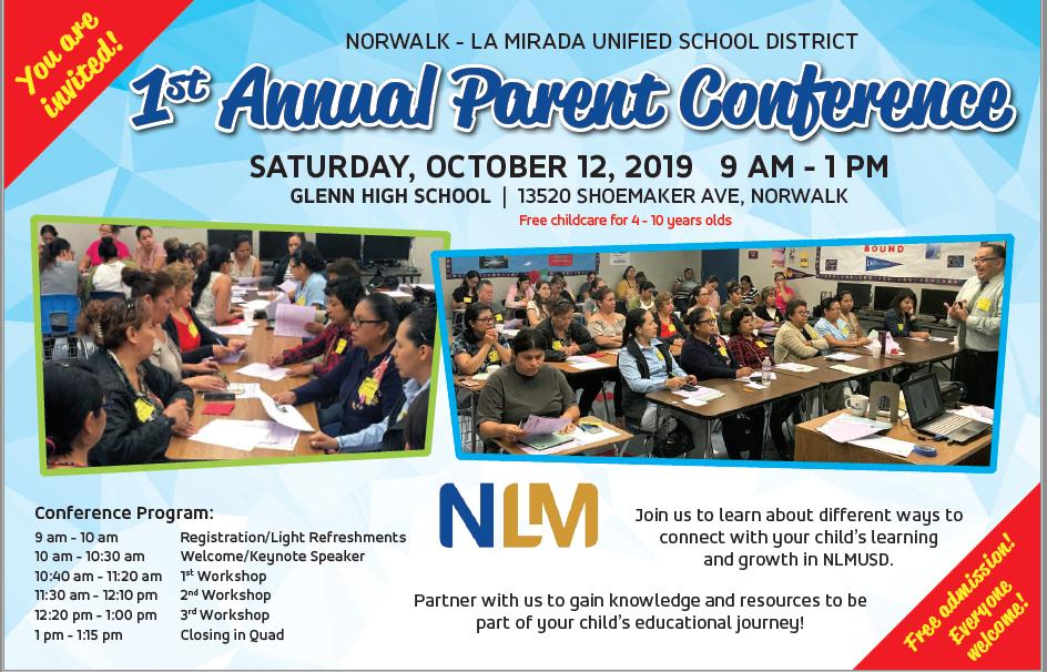 NLMUSD Parent Conference