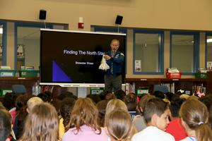 Astronaut Brewster Shaw shares information about the space shuttle.