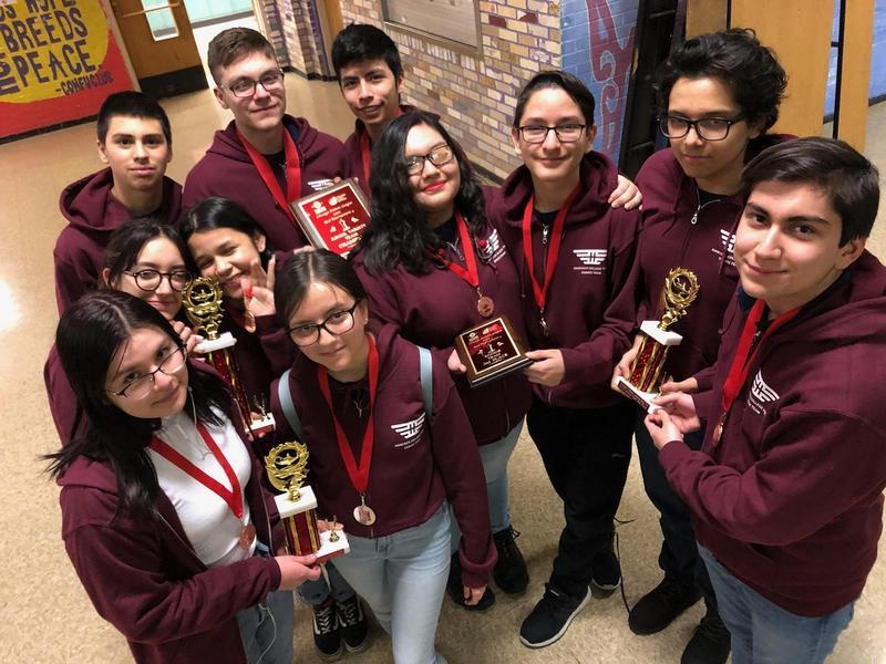 Hancock Debate Team Wins at January Tournament