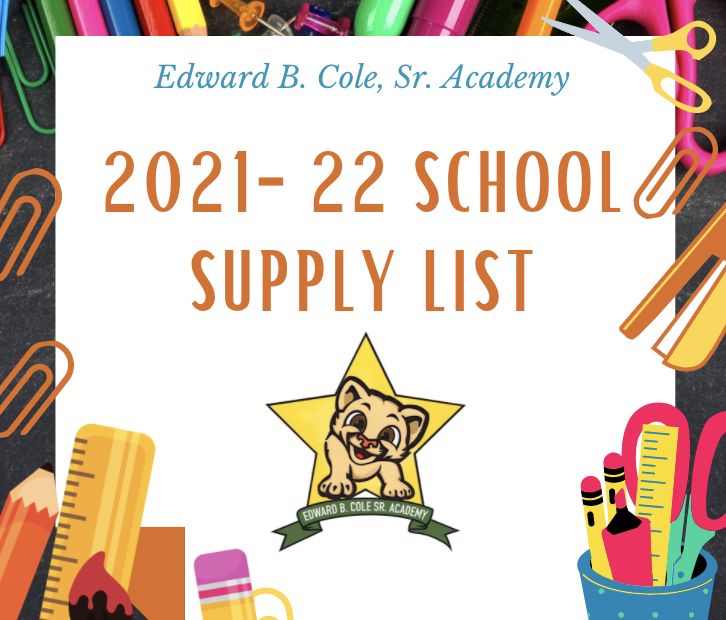 2021-22 Supply Lists!✏️ Featured Photo