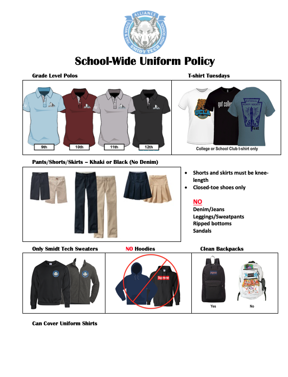New Uniform Policy Thumbnail Image