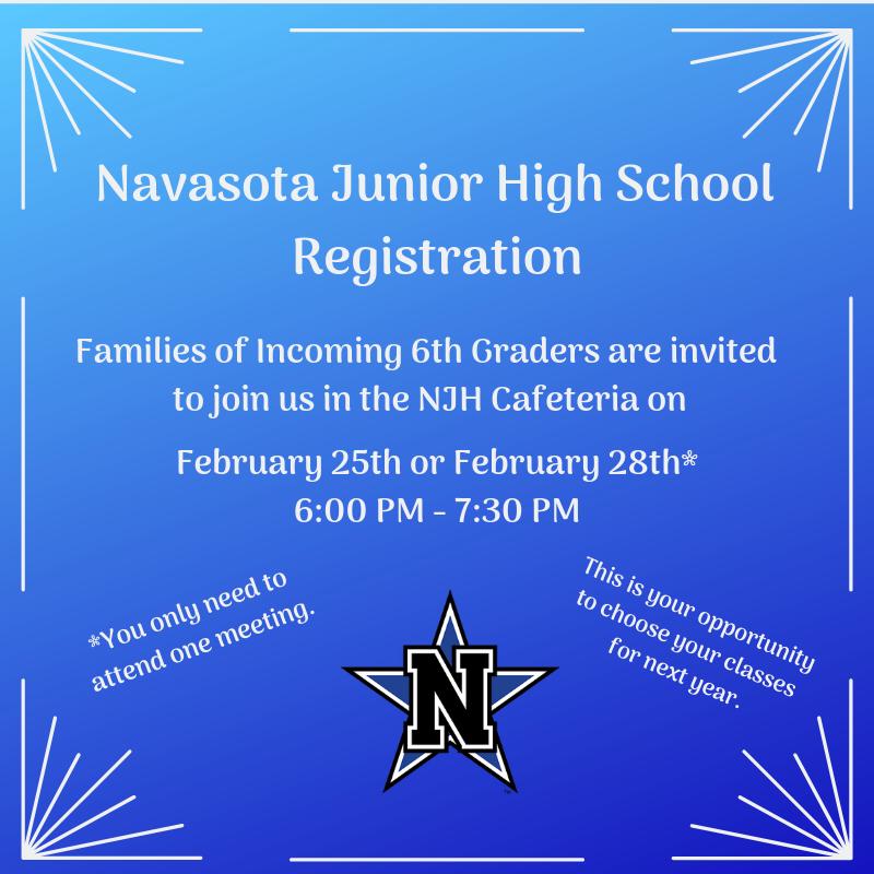 Junior High Registration Featured Photo