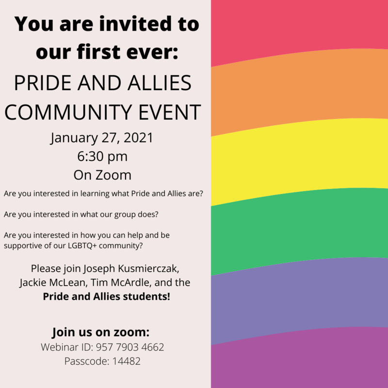 Pride & Allies Community Event