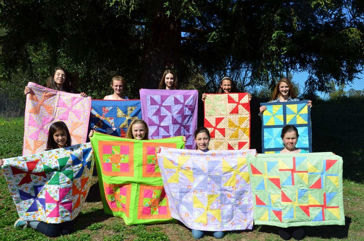 Nature Academy quilts