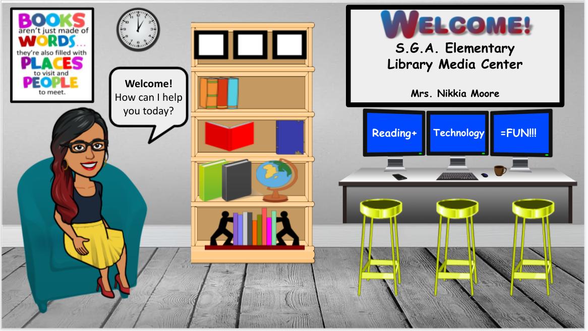 Mrs. Moore Virtual Classroom