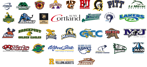 SUNY College Logos