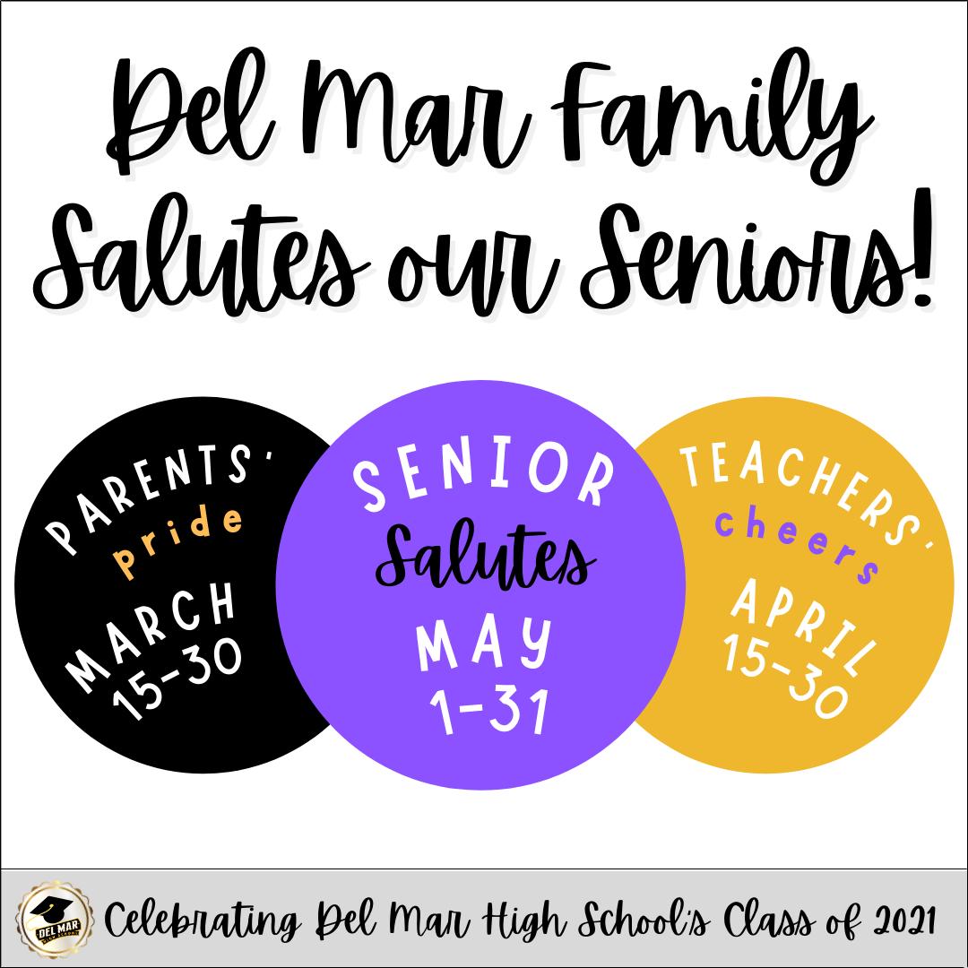 del mar family celebrates class of 2021