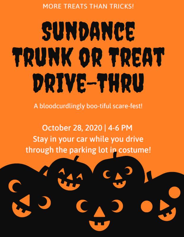 Sundance Trunk or Treat Drive-Thru