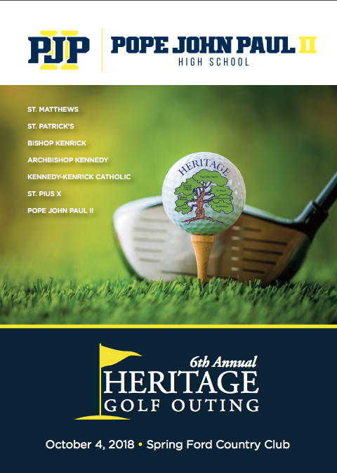 PJP's Heritage Golf Classic October 4th: Register Today! Thumbnail Image