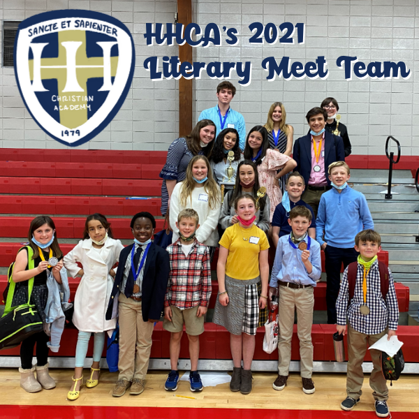 HHCA LIterary Meet Competitors