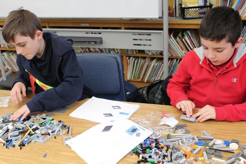 McAuliffe Heights Lego League Club goes Into Orbit Thumbnail Image