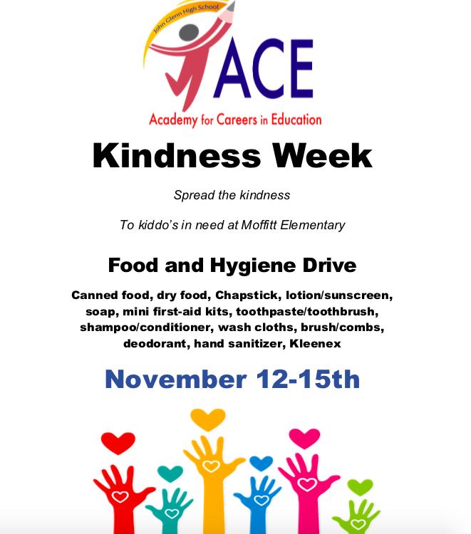 International Kindness week Nov. 12-15. Featured Photo