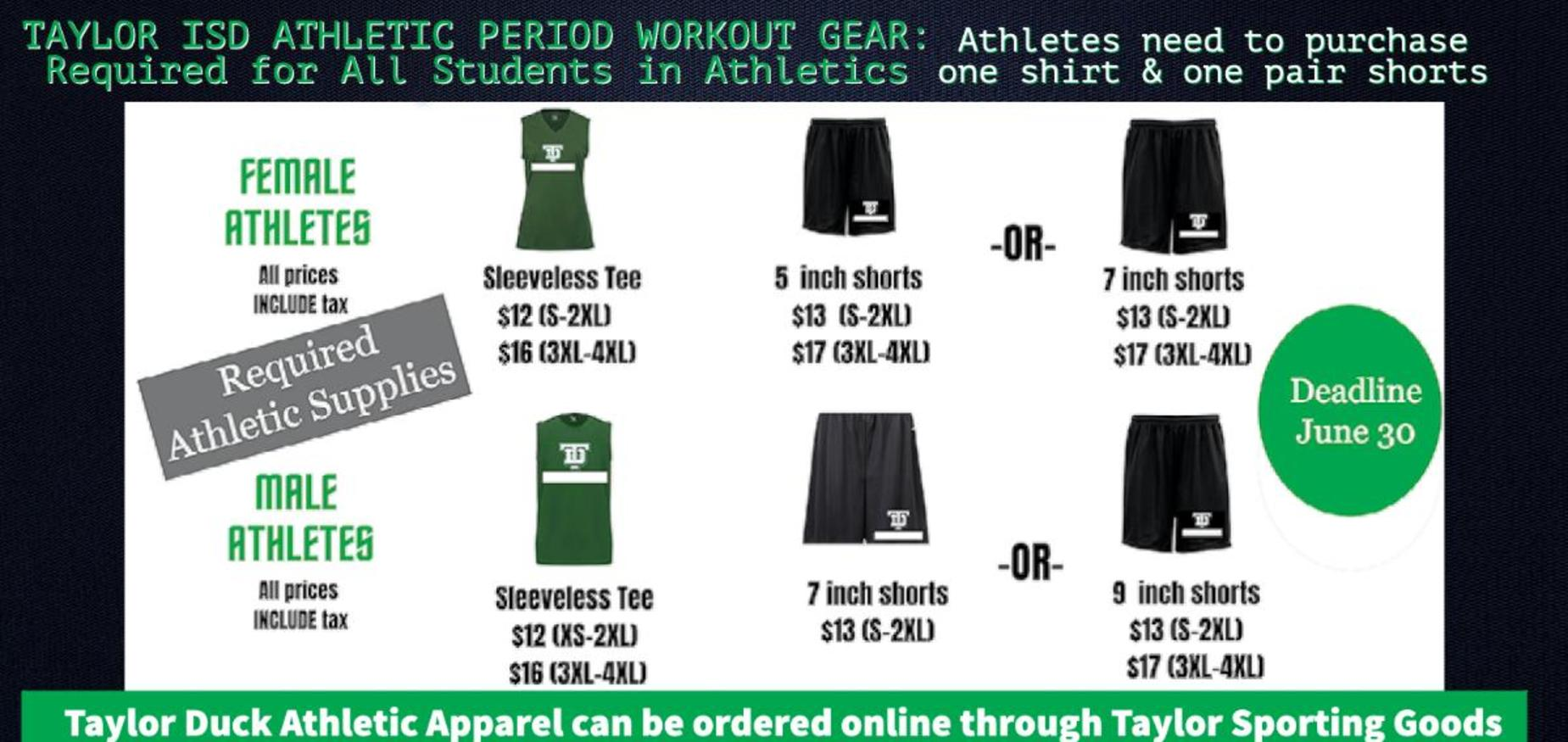 Athletic Workout Gear 2021