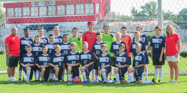 2019-20 MS Soccer Team