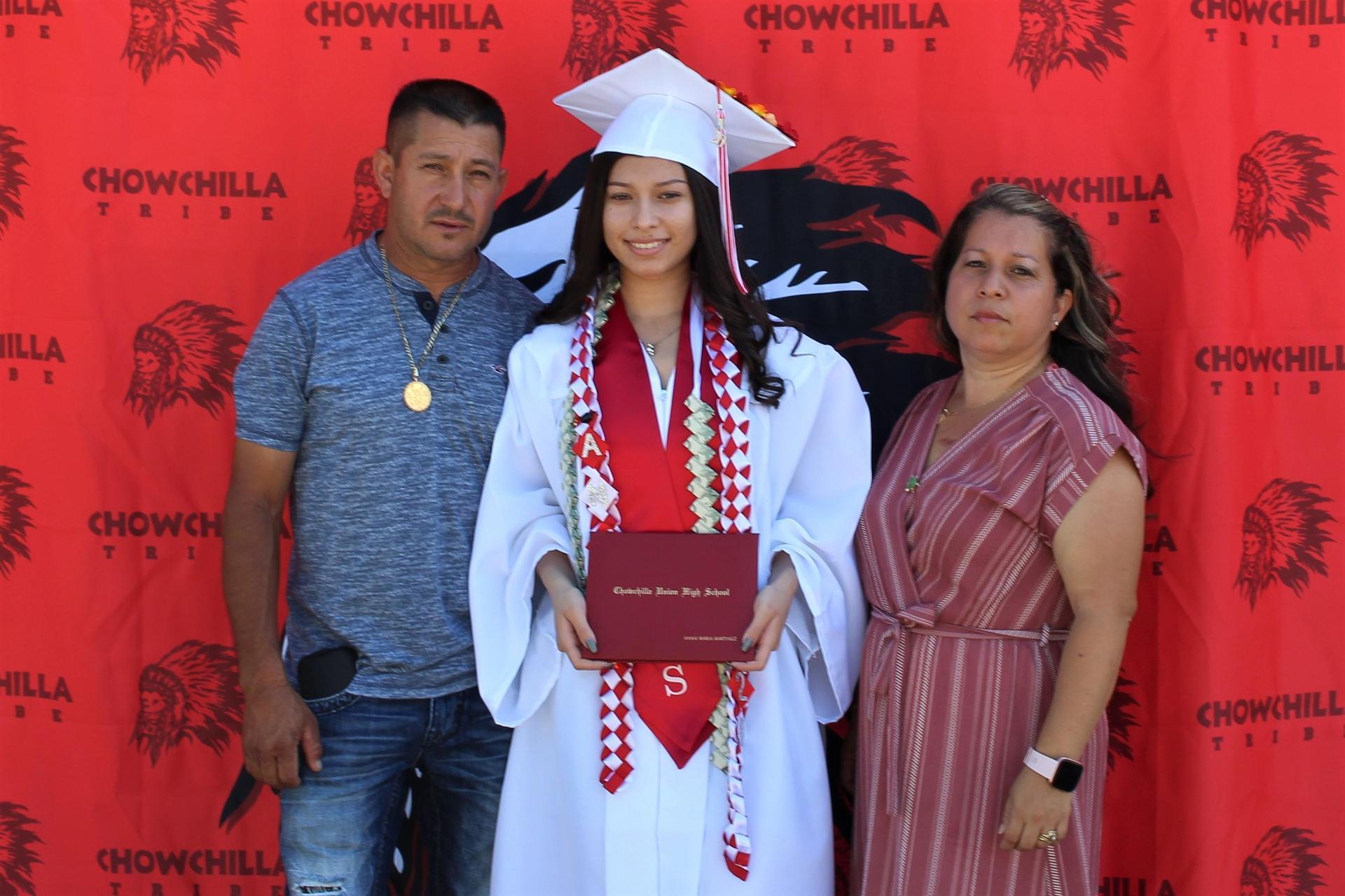 Annai Martinez and family