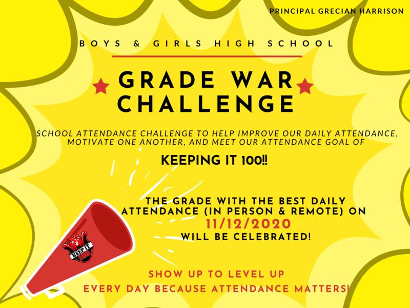 BGHS Grade War Challenge