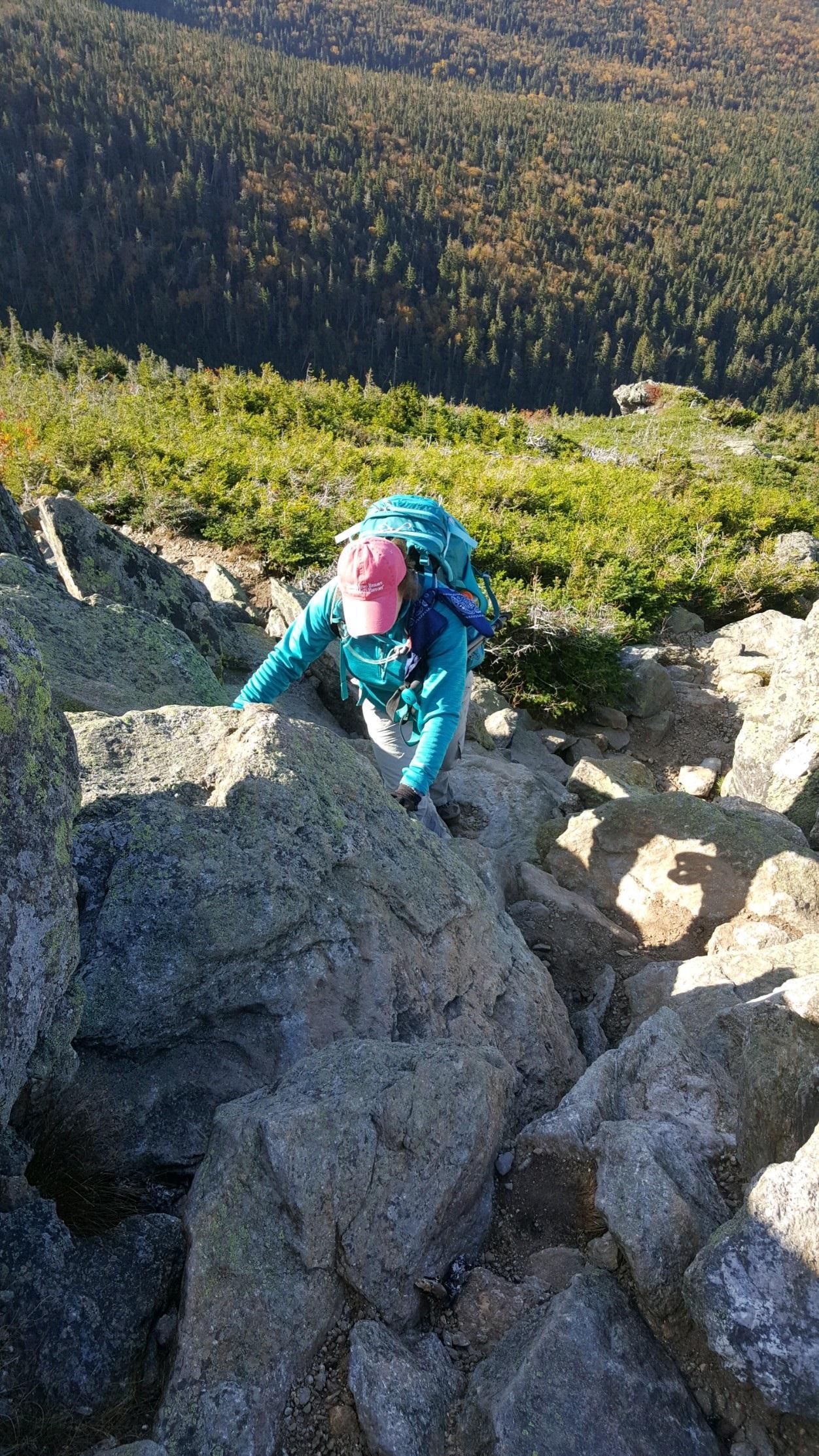 Photo Climb up Mount Jefferson New Hampshire