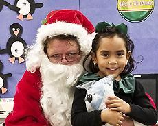 Readiness Class B with Santa Claus